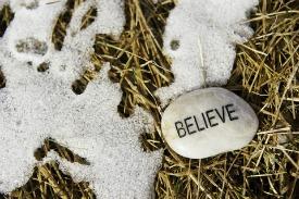 beleive have faith