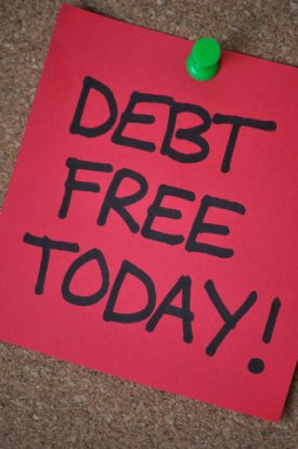 debt free today