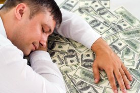 dreaming financial wealth