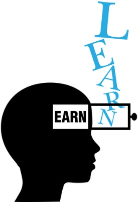 open mind learn earn